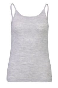 Macpac 150 Merino Camisole - Women's, Light Grey Marle, hi-res