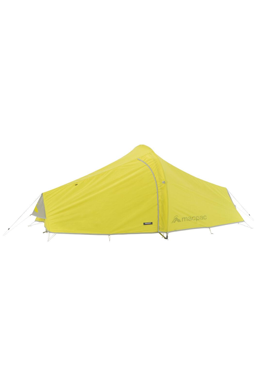 Macpac Sololight Tramping Tent, Citronelle, hi-res