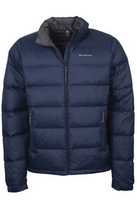 Macpac Halo Down Jacket - Men's, Black Iris, hi-res