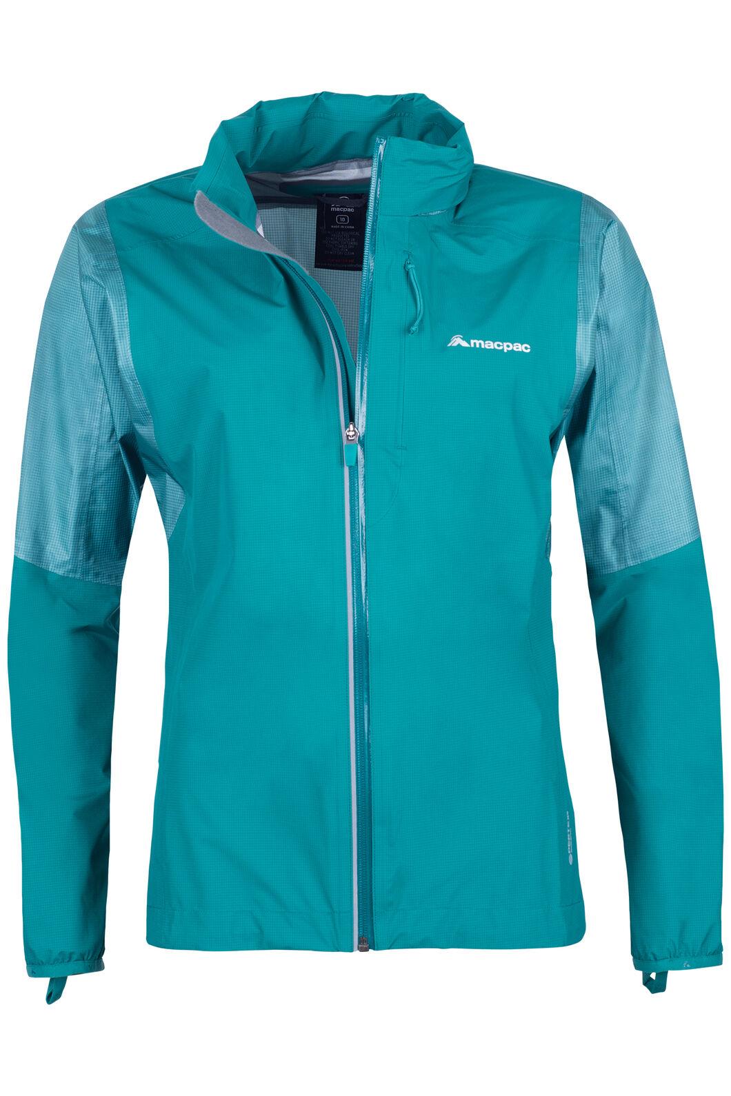 Transition Pertex Shield® Rain Jacket - Women's, Teal, hi-res