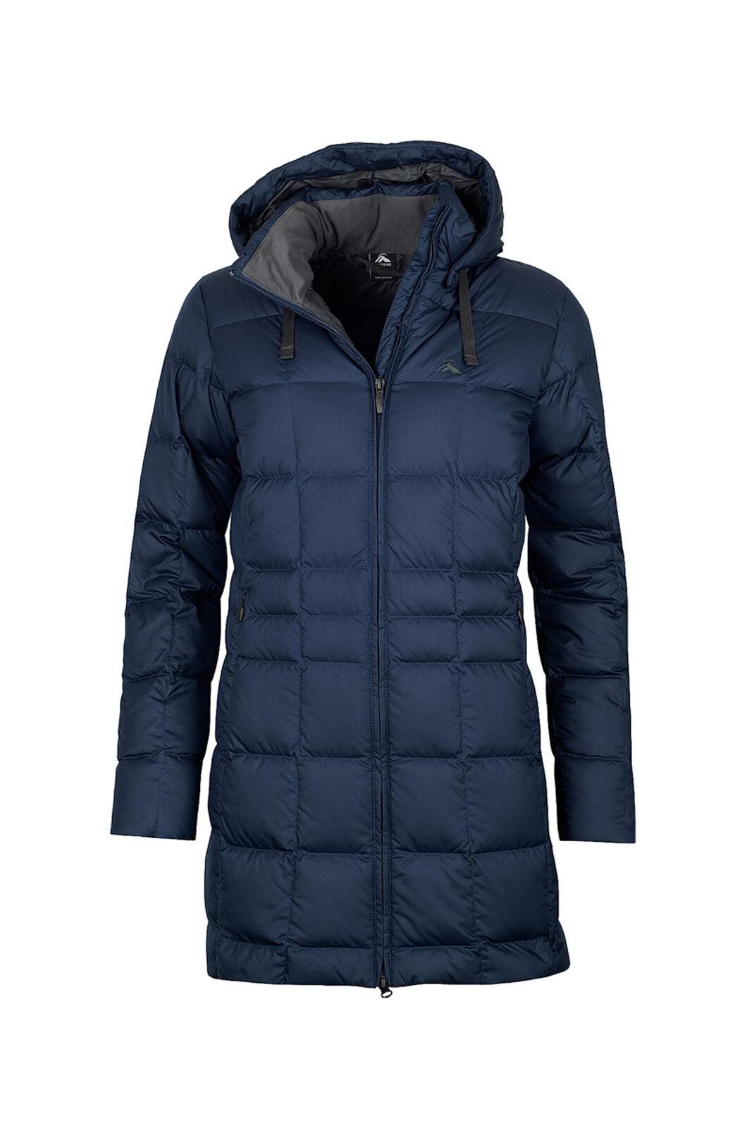 Macpac Aurora Down Coat V3 - Women's, Black Iris, hi-res