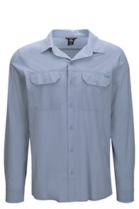 Macpac Eclipse Long Sleeve Shirt — Men's, LIGHT BLUE, hi-res