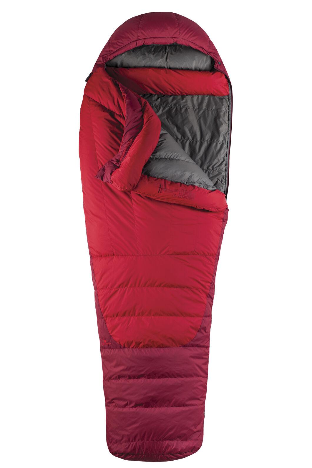 Macpac Latitude XP Goose Down 500 Sleeping Bag - Standard, Chilli, hi-res
