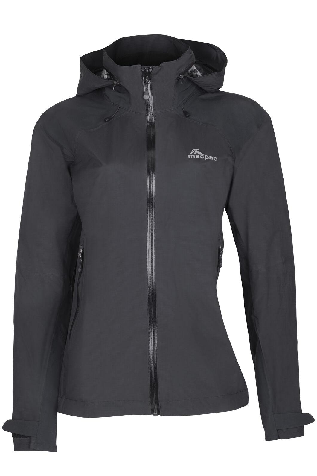 Macpac Traverse Pertex Shield® Rain Jacket - Women's, Black, hi-res