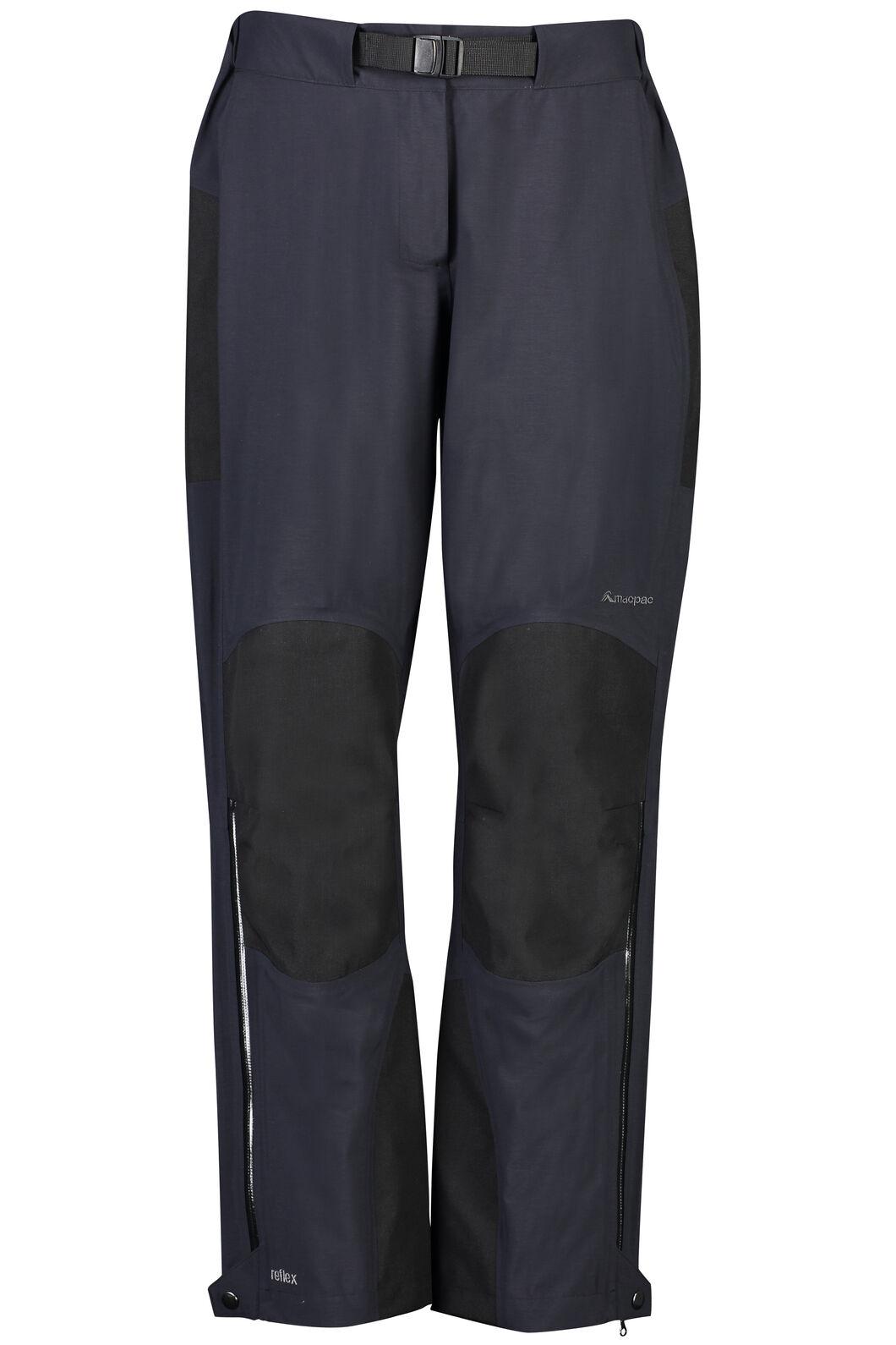 Macpac Gauge Rain Pants - Women's, Black, hi-res