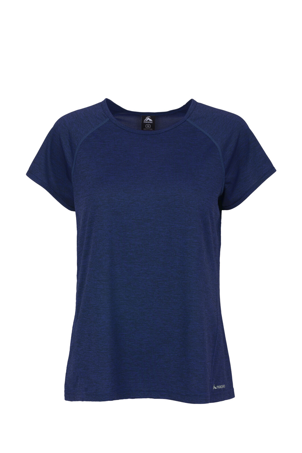 Macpac Take a Hike Short Sleeve - Women's, Medieval Blue, hi-res