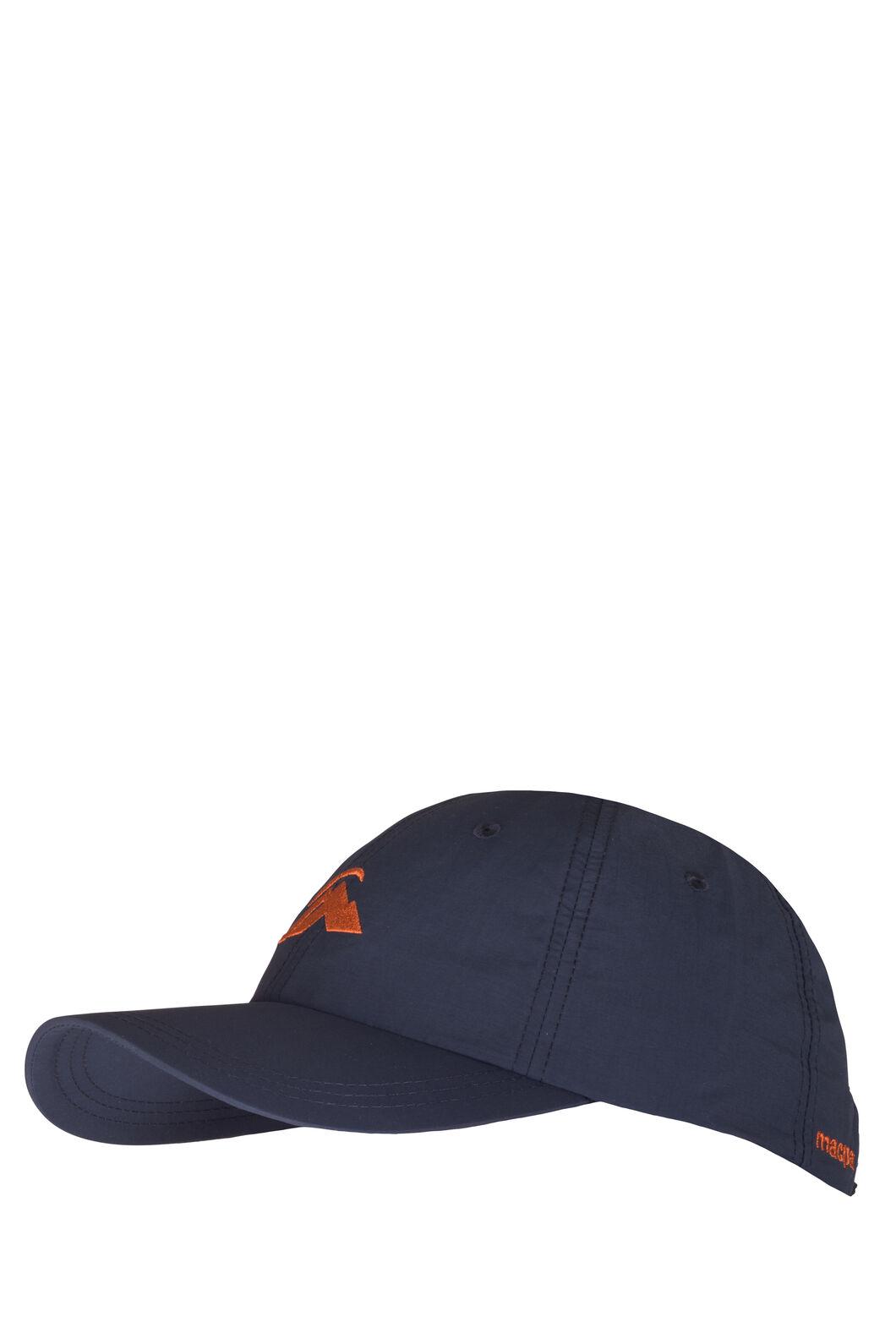 Macpac Hiker Cap, Black Iris/Burnt Orange, hi-res
