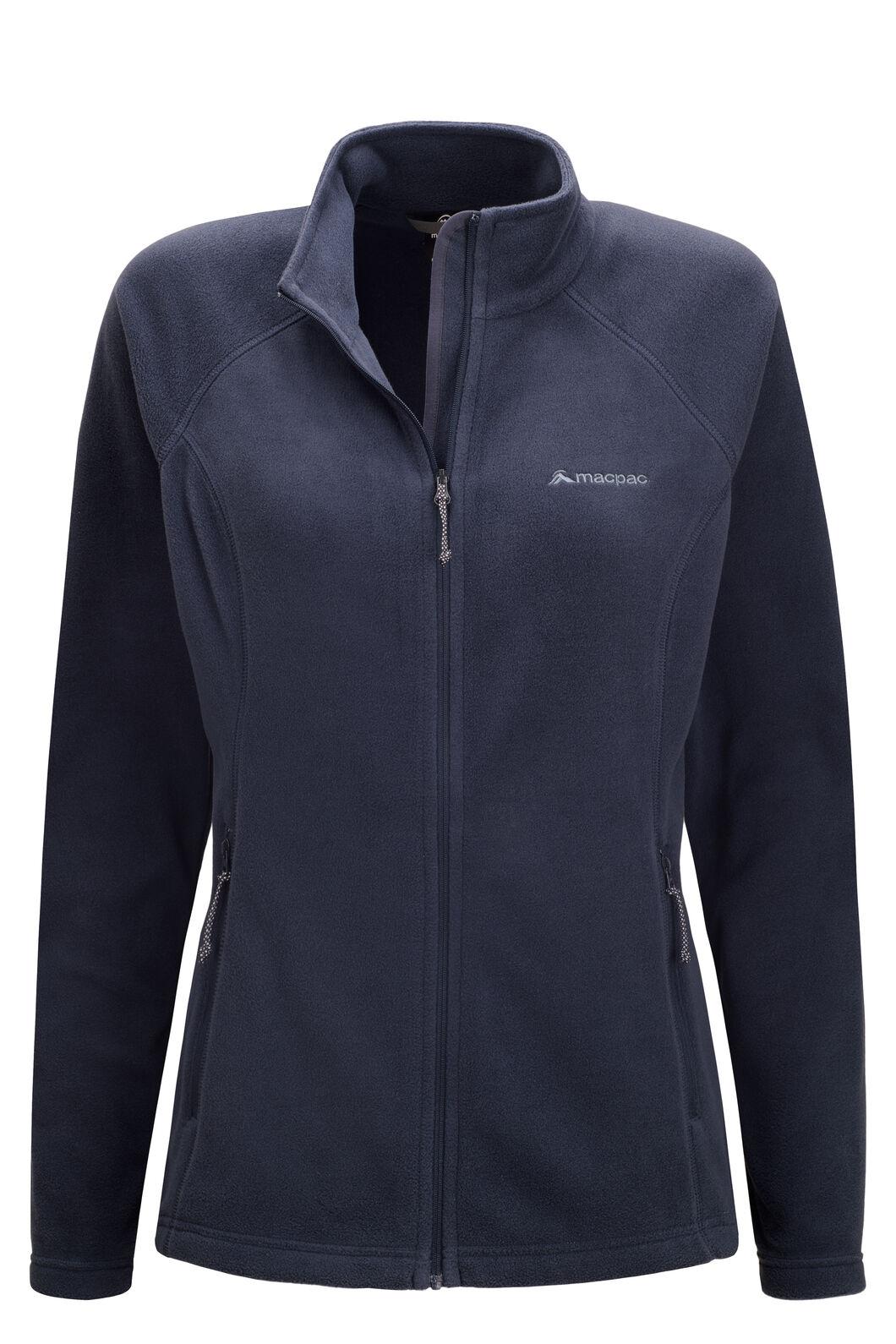 Macpac Tui Polartec® Micro Fleece® Jacket — Women's, Total Eclipse, hi-res