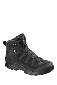 Salomon Quest Prime GTX Mid Boots — Men's, PHANTOM/BLACK/QUIET SHADE, hi-res