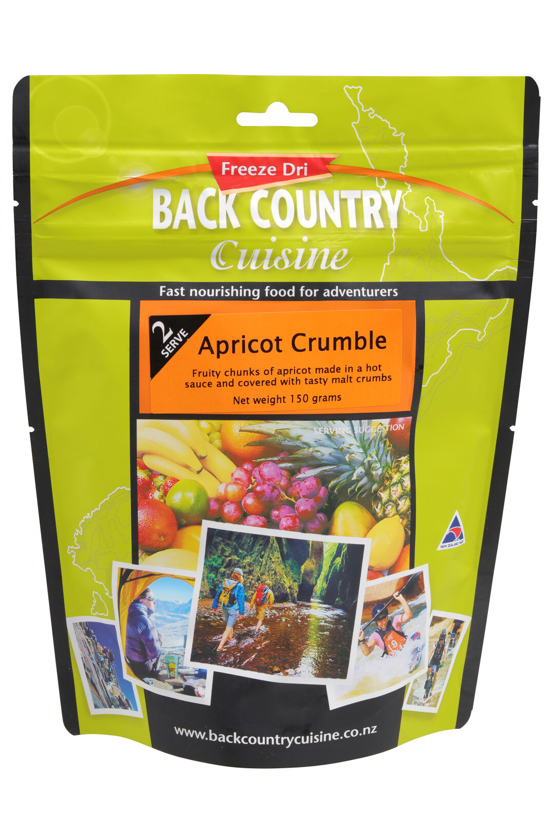 Back Country Apricot Crumble - 2 Serves, None, hi-res