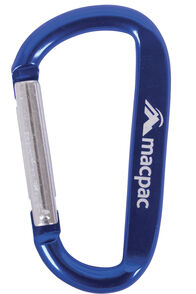 Macpac Carabiner, Blue, hi-res