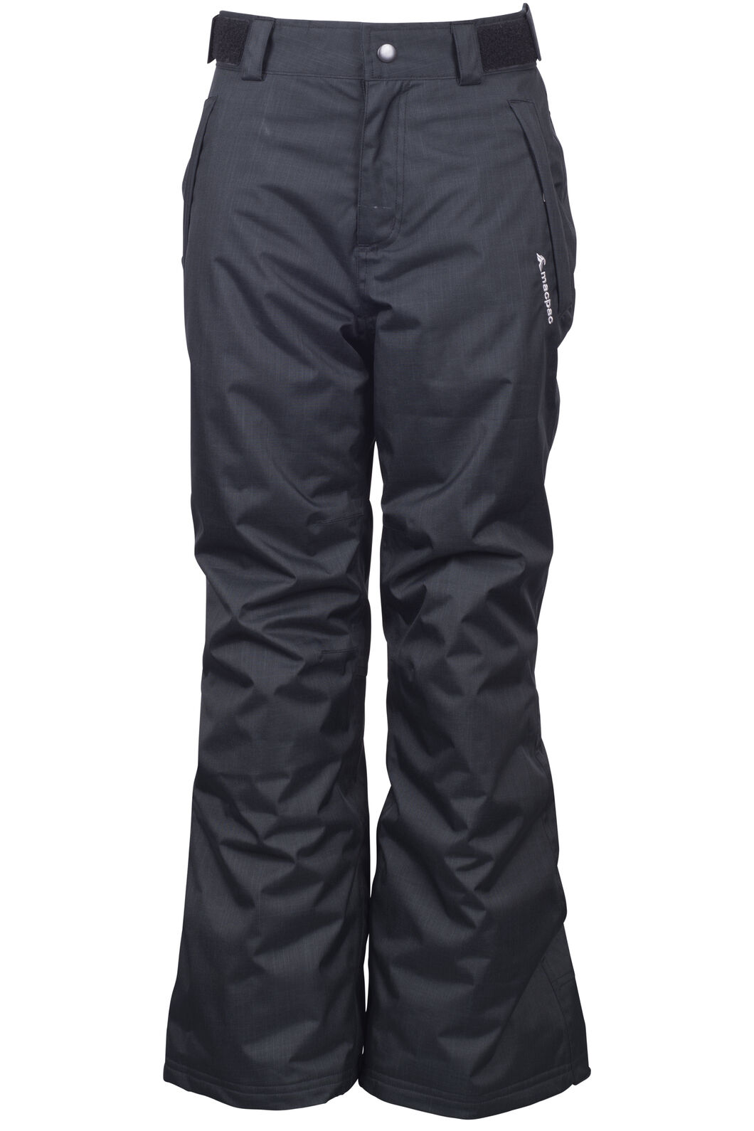 Macpac Spree Reflex™ Ski Pants — Kids', Black, hi-res