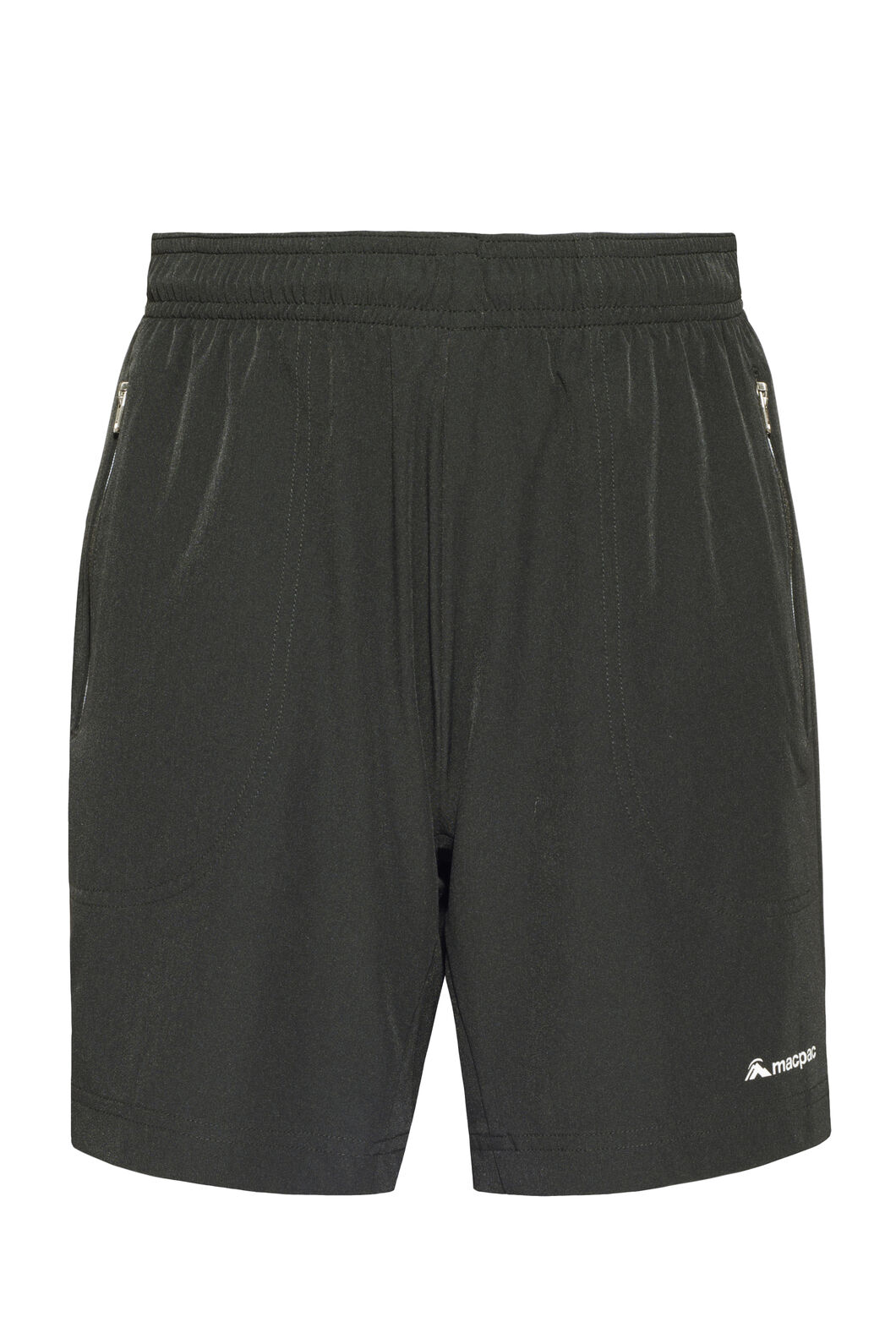 Macpac Fast Track Shorts — Kids', Black, hi-res
