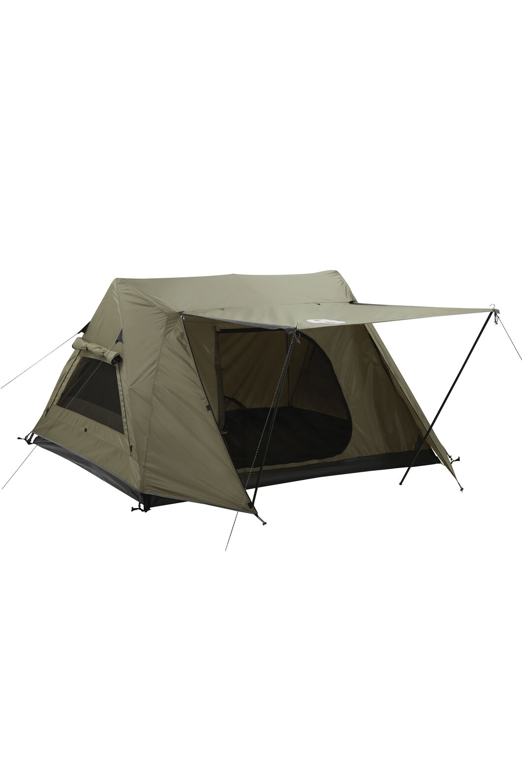 Coleman Instant Up Swagger Tent — Three Person, Khaki, hi-res