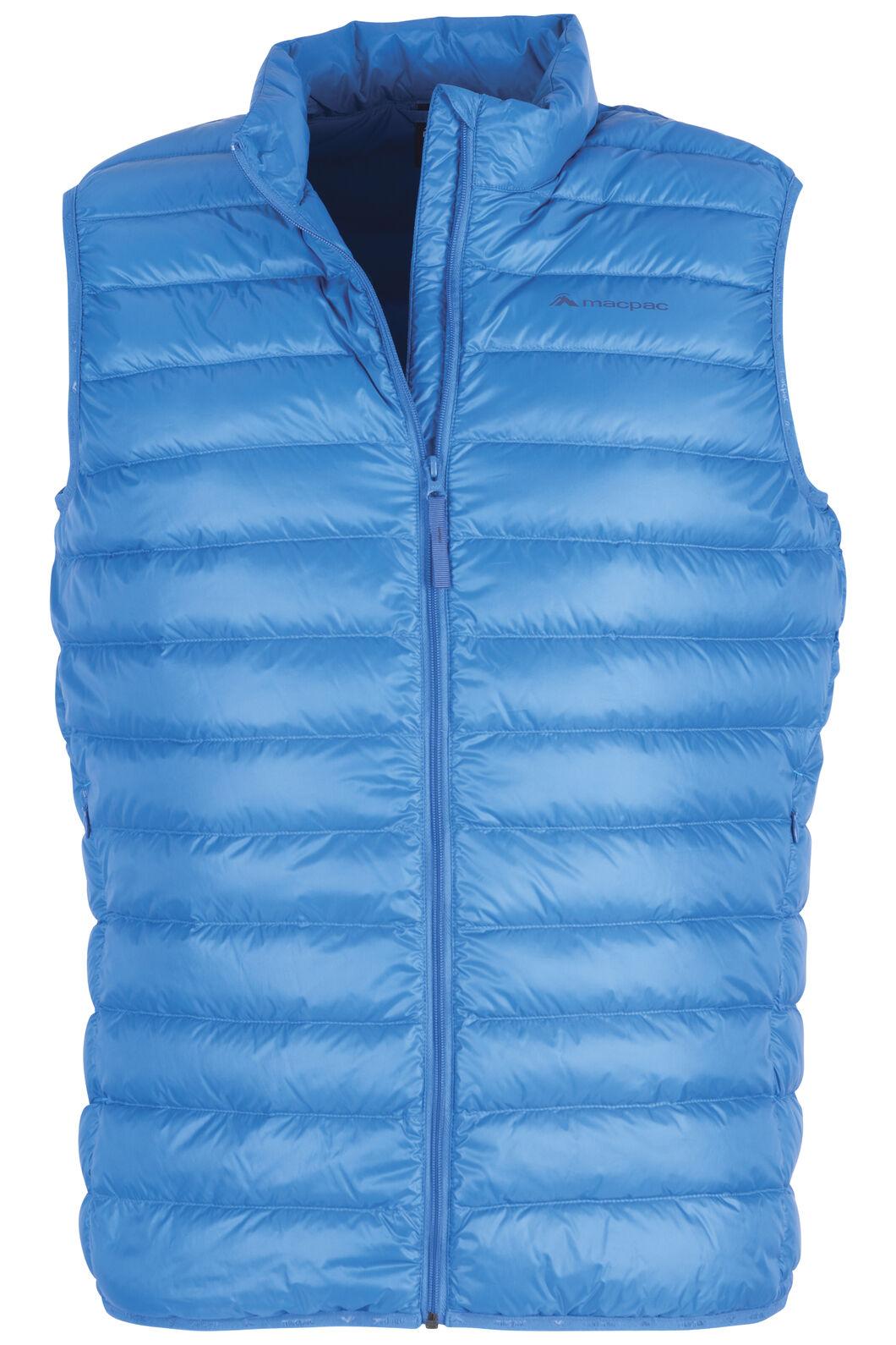 Macpac Uber Light Down Vest — Men's, Imperial Blue, hi-res