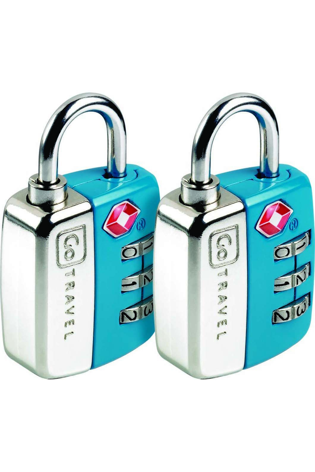 Go Travel Twin Travel Sentry Lock Set, None, hi-res
