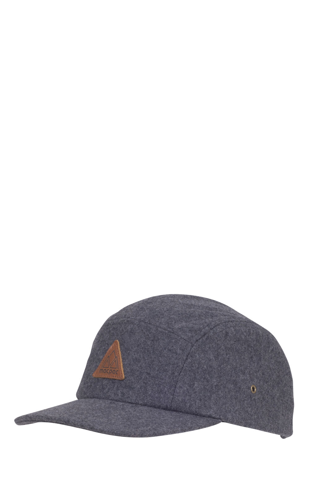 Macpac Wool Blend 5-Panel Hat, Grey, hi-res