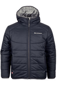 Pulsar Hooded Primaloft® SILVER Jacket - Kids', Black/Print, hi-res
