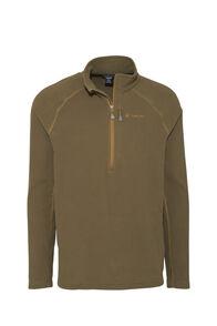 Macpac Tui Polartec® Micro Fleece® Pullover — Men's, Military Olive, hi-res