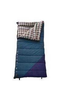 Wanderer Grand Yarra Cotton Camper Sleeping Bag, Teal/Navy, hi-res