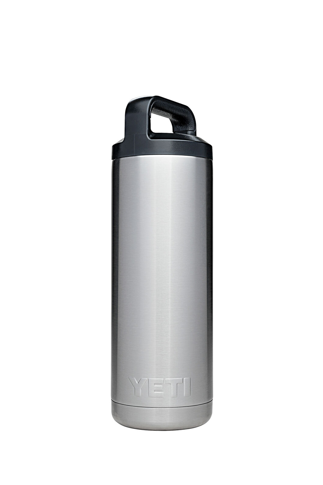 Yeti Rambler Drink Bottle Stainless Steel 18oz, Silver, hi-res