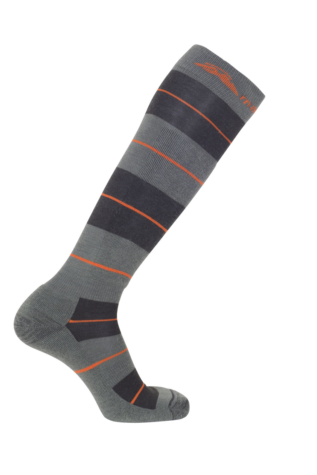 Macpac Merino Ski Socks, Grape Leaf/Puffins Bill, hi-res