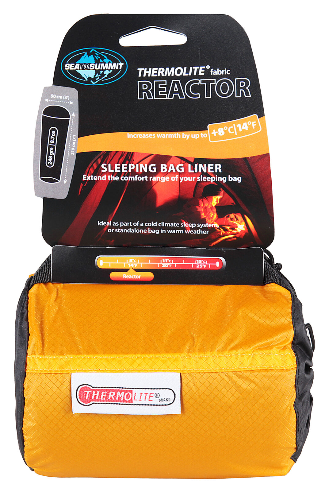 Sea to Summit Thermolite Sleeping Bag Liner, None, hi-res