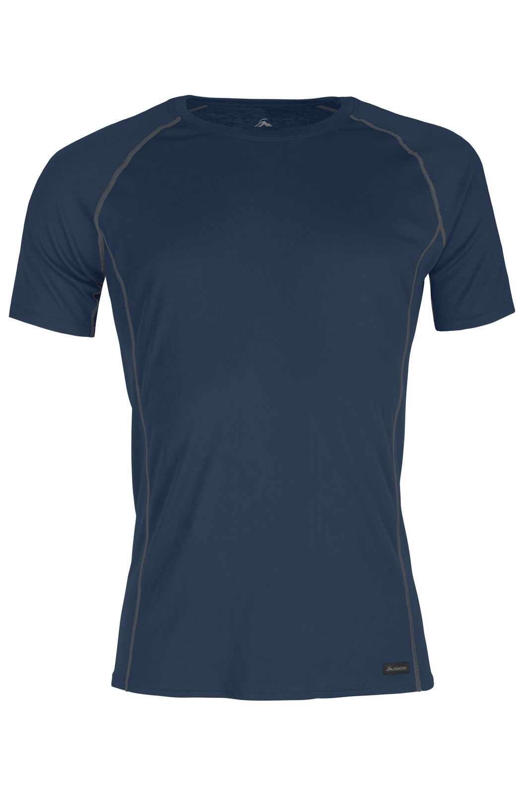 Macpac Geothermal Short Sleeve Top - Men's, Carbon, hi-res
