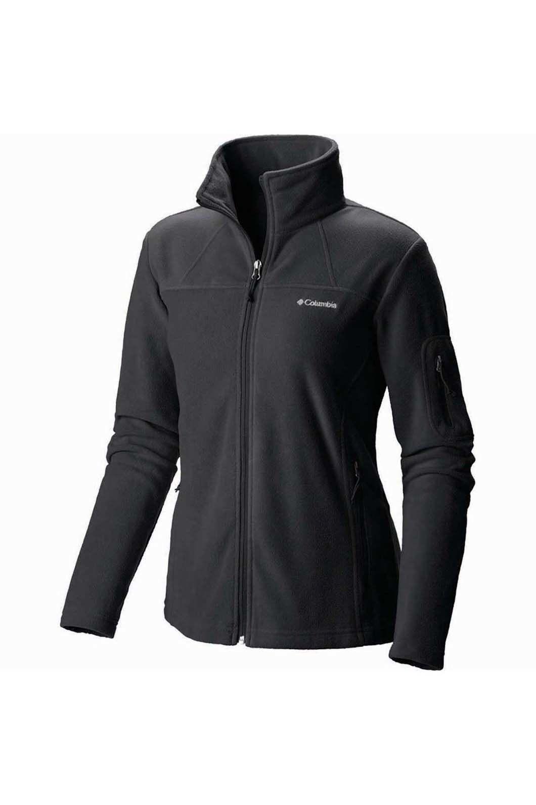 Columbia Women's Fast Trek II Jacket, Black, hi-res