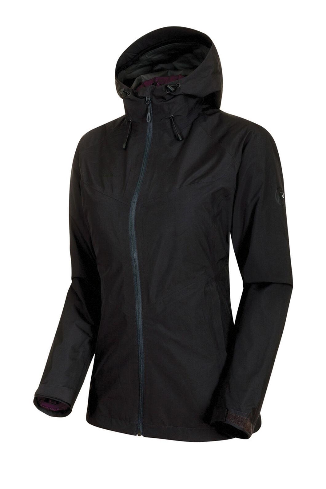 Mammut Convey 3 in 1 Hooded Hardshell Jacket - Women's, Black, hi-res