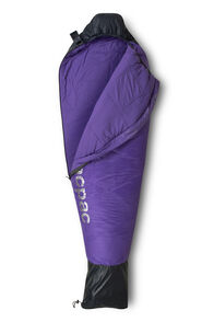 Macpac Kids' Aspire 270 Synthetic Sleeping Bag, Ombre Blue/Passion Flower, hi-res