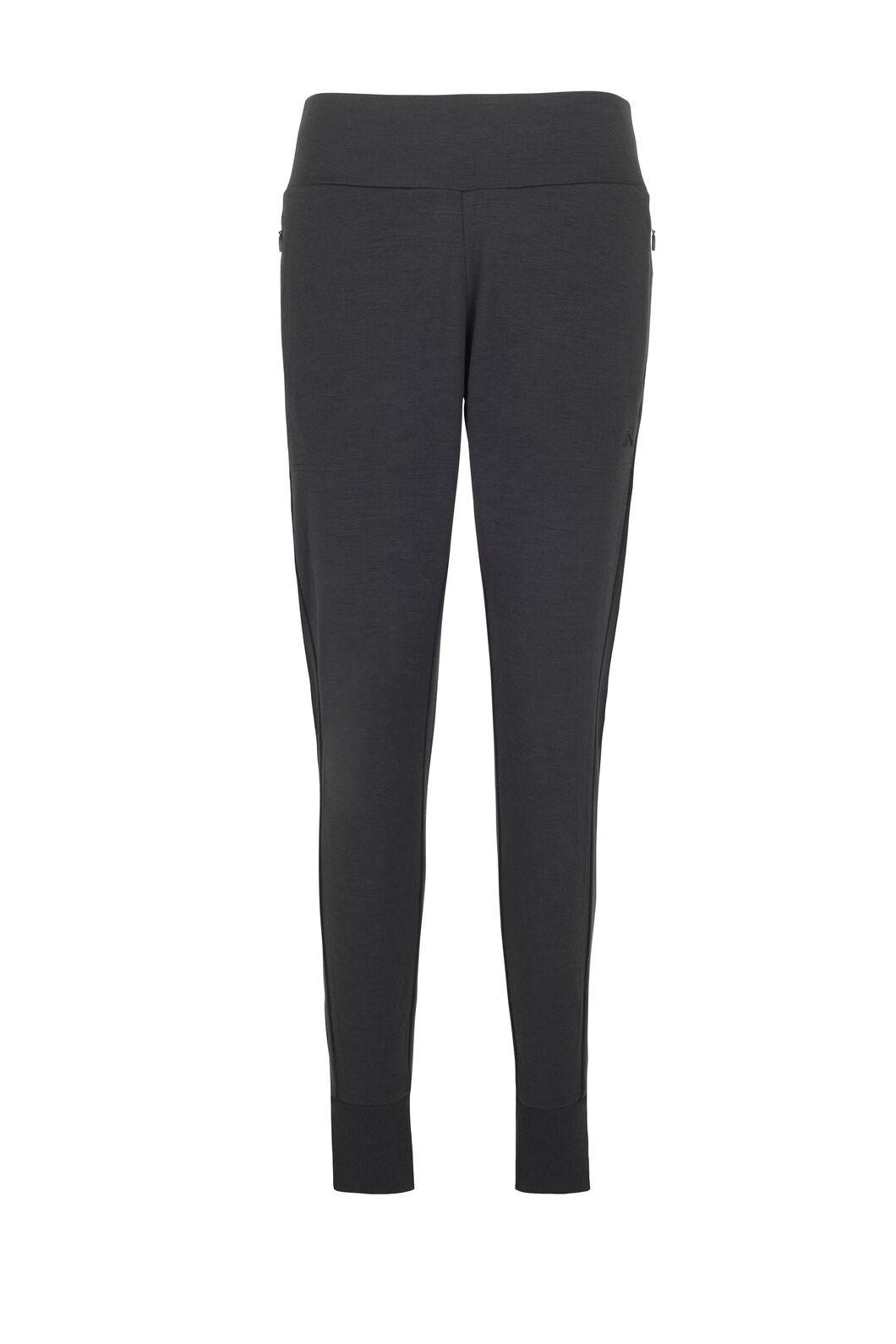 Macpac Merino Blend Track Pants — Women's, Black, hi-res