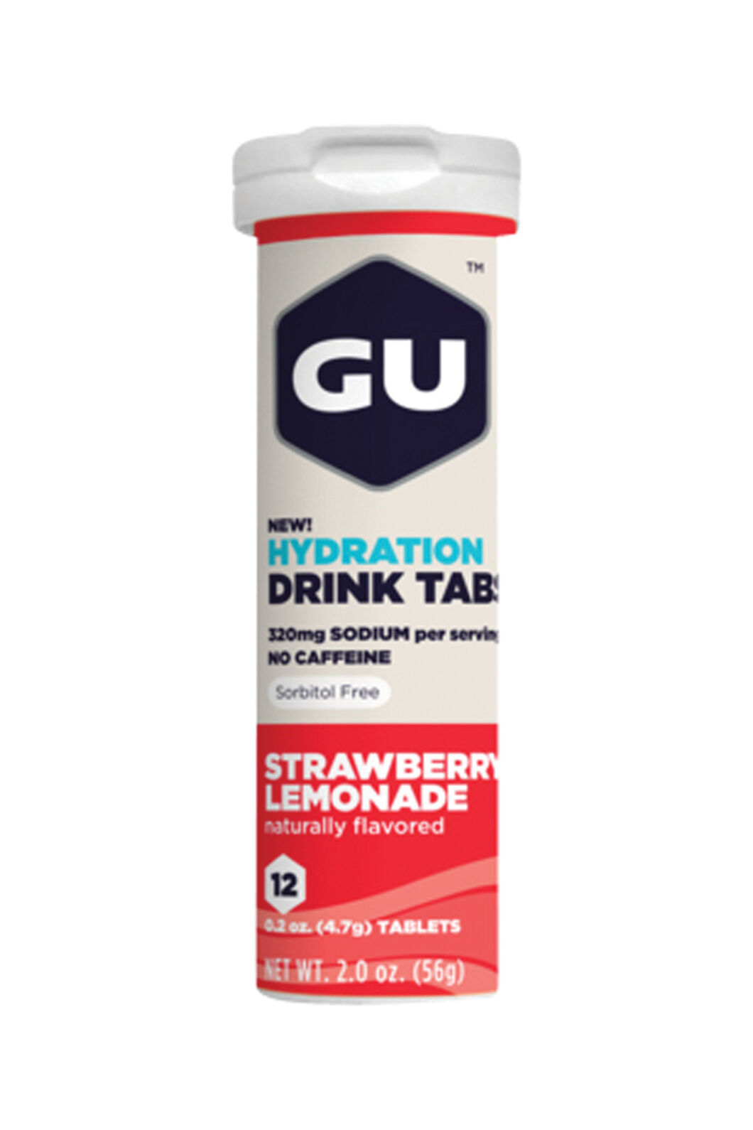 Gu Hydration Tablets Strawberry Lemonade, None, hi-res