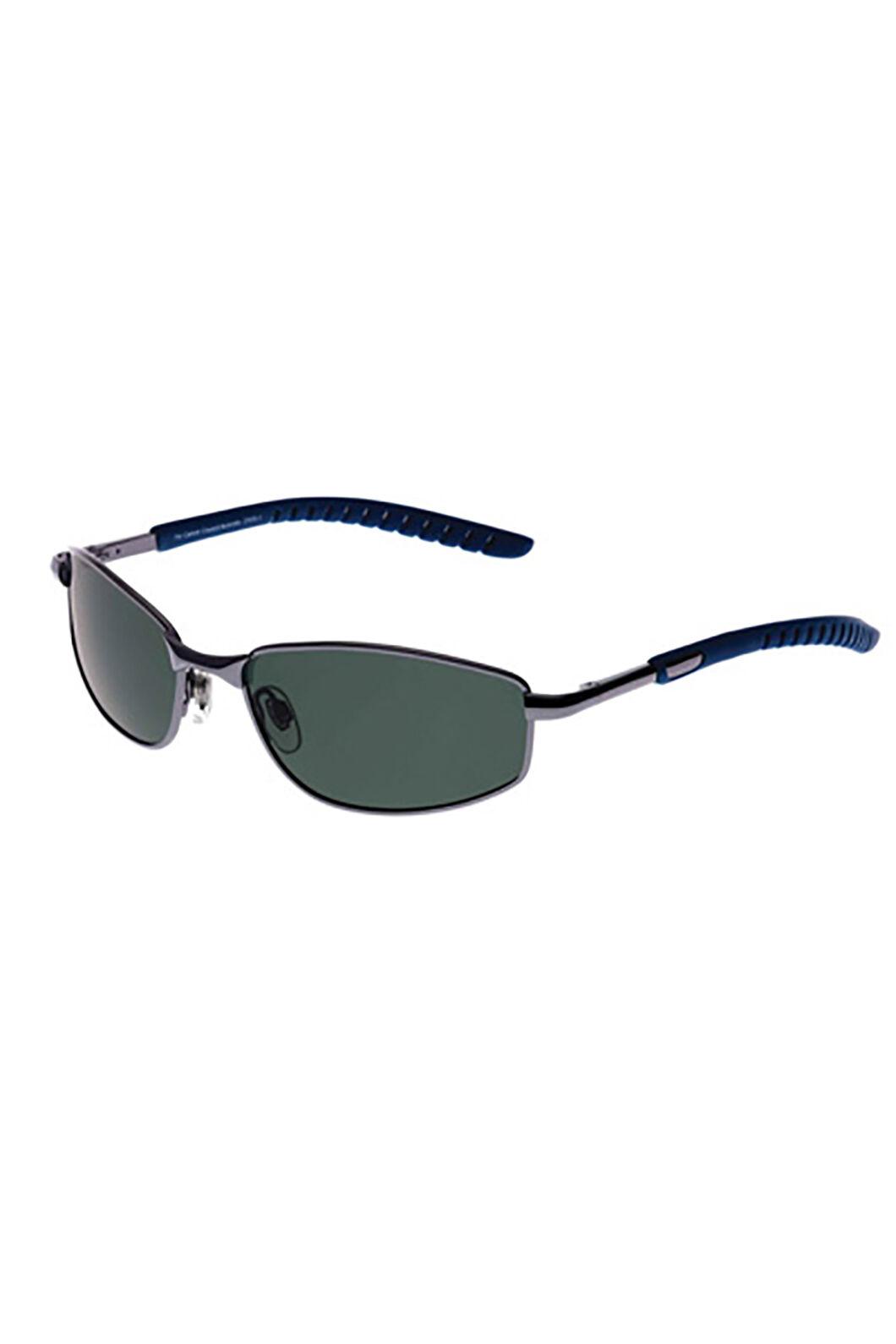 Cancer Council Unisex Trundle Polarised Sunglasses, DARK GUNMETAL/BLUE, hi-res