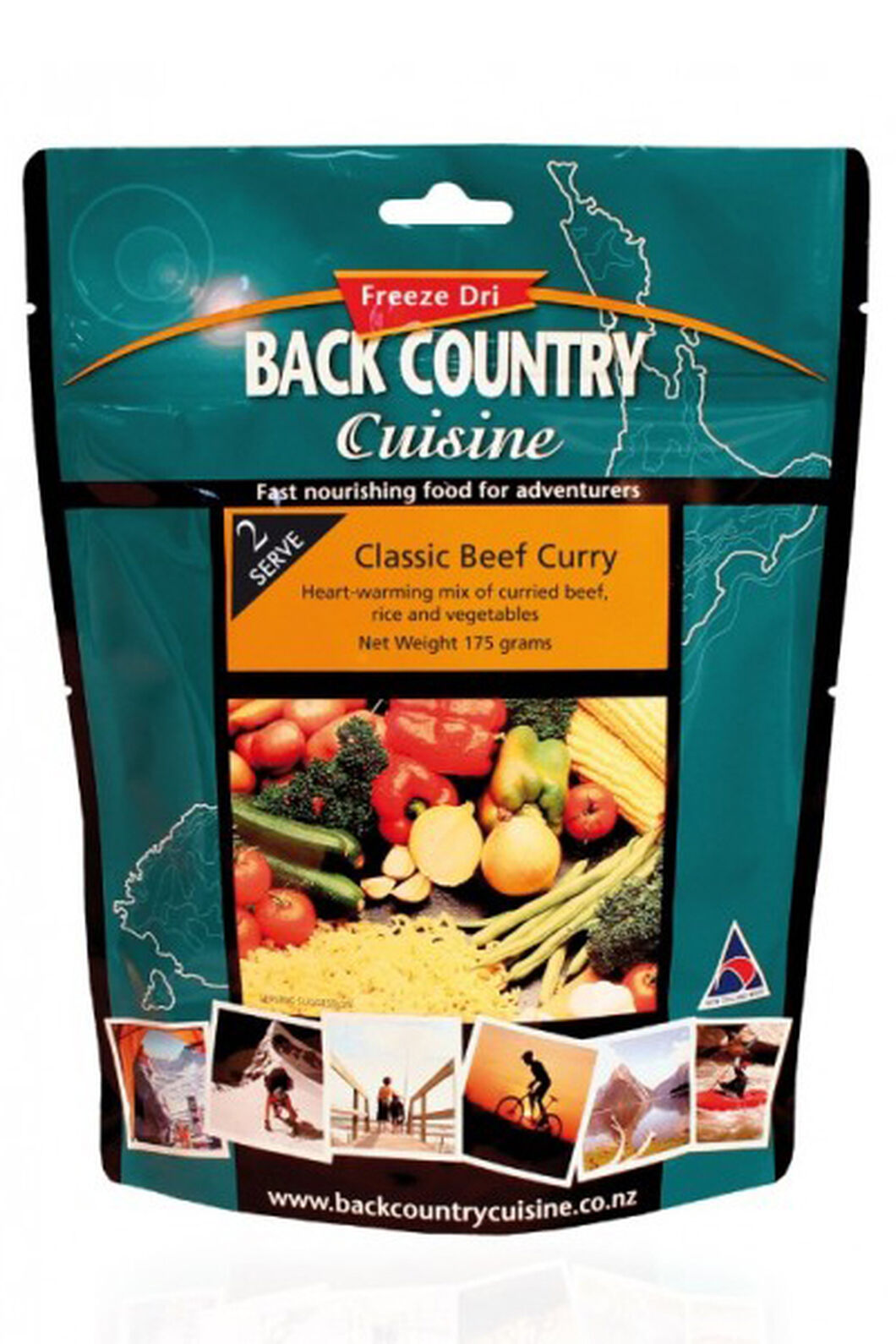 Back Country Classic Beef Curry - 2 Serves, None, hi-res
