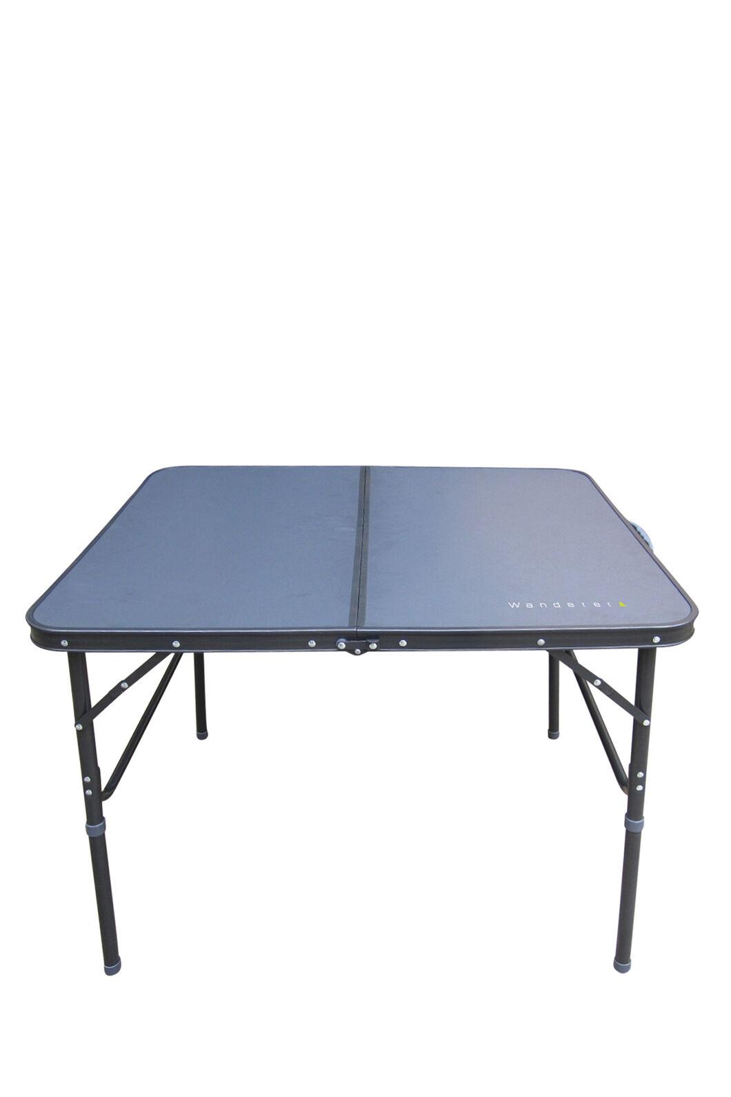 Wanderer Aluminium Folding Table, None, hi-res