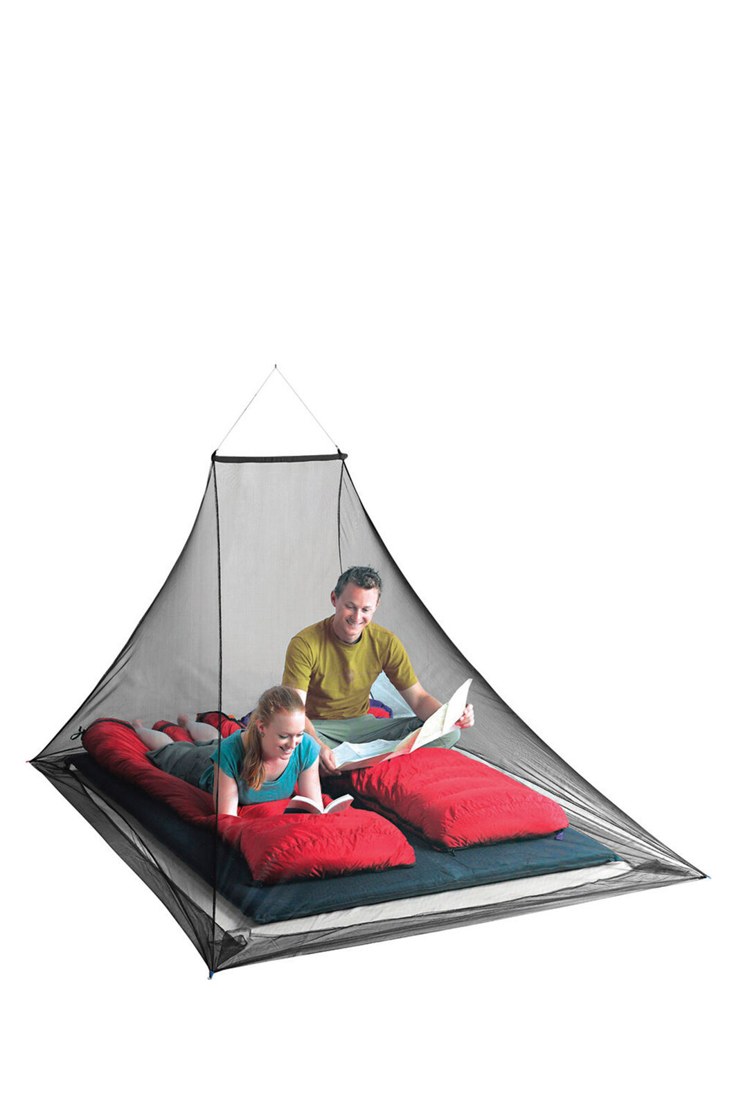 Sea to Summit Pyramid Permethrin Treated Mosquito Net Double, None, hi-res
