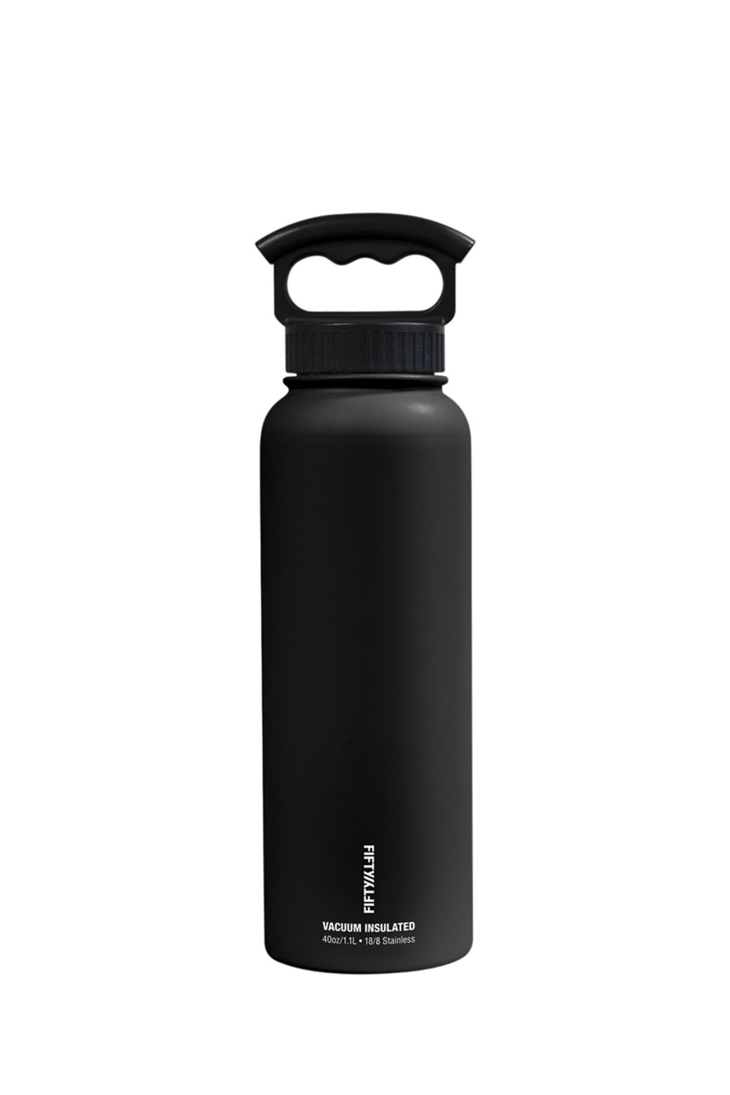 FIFTY/FIFTY® Insulated Bottle — 40 oz./1L, Matt Black, hi-res