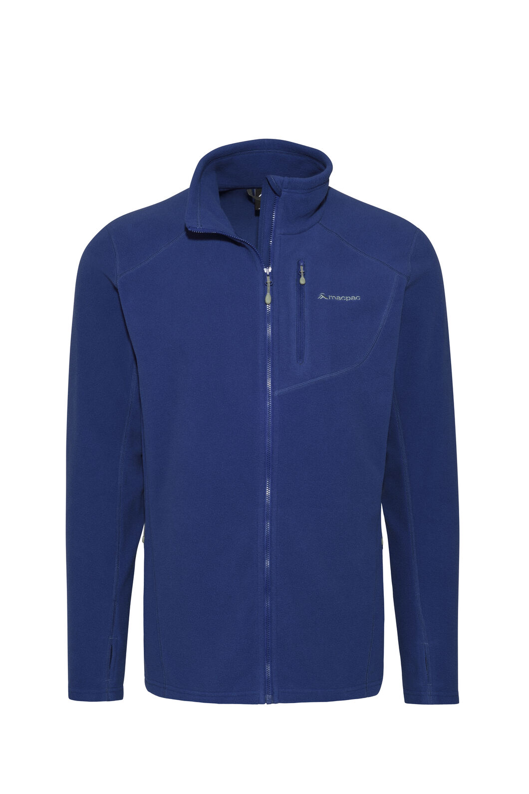 Macpac Kea Polartec® Micro Fleece® Jacket — Men's, Blueprint, hi-res