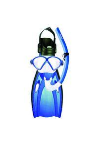 Mirage Junior Comet Snorkelling Set, Blue, hi-res