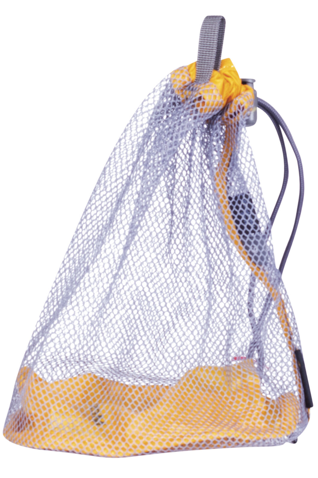 Macpac Mesh Stuff Sack Medium, Saffron, hi-res