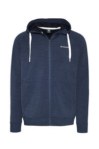 Macpac Escape Merino Hoody - Men's, Black Iris Marle, hi-res