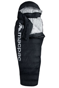Macpac Overland Down 400 Sleeping Bag — Women's, Black, hi-res