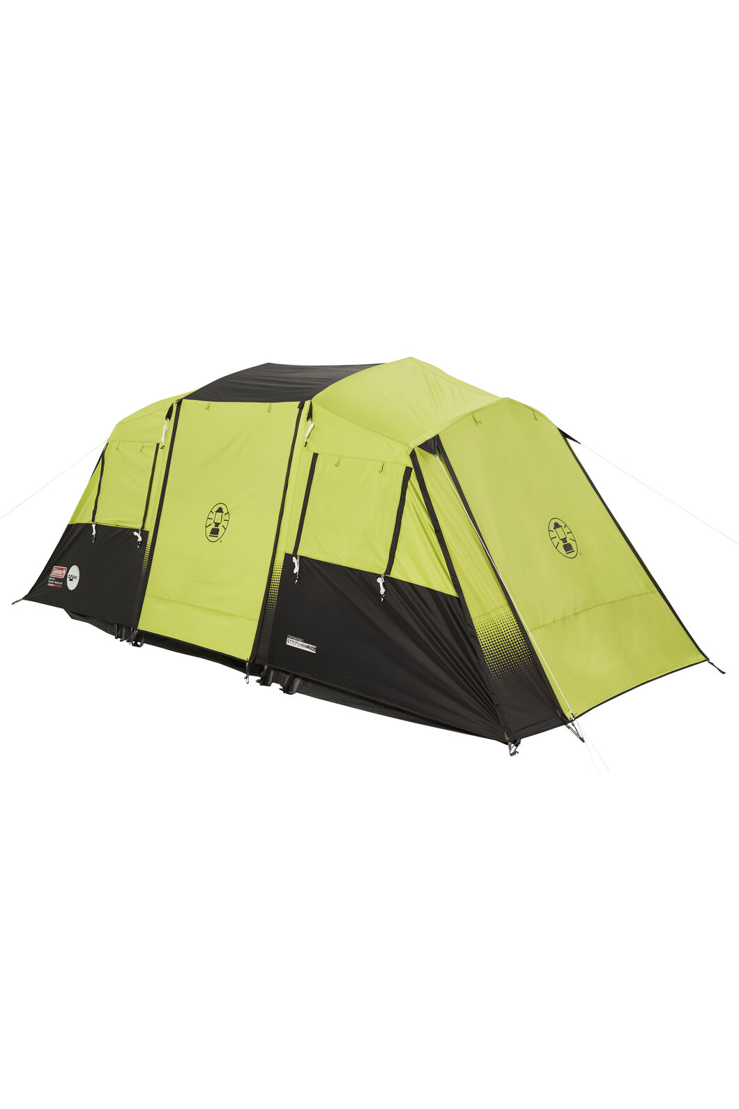 Coleman Instant Traveller Tent with Lighted Darkroom Technology — Eight Person, Citronelle, hi-res