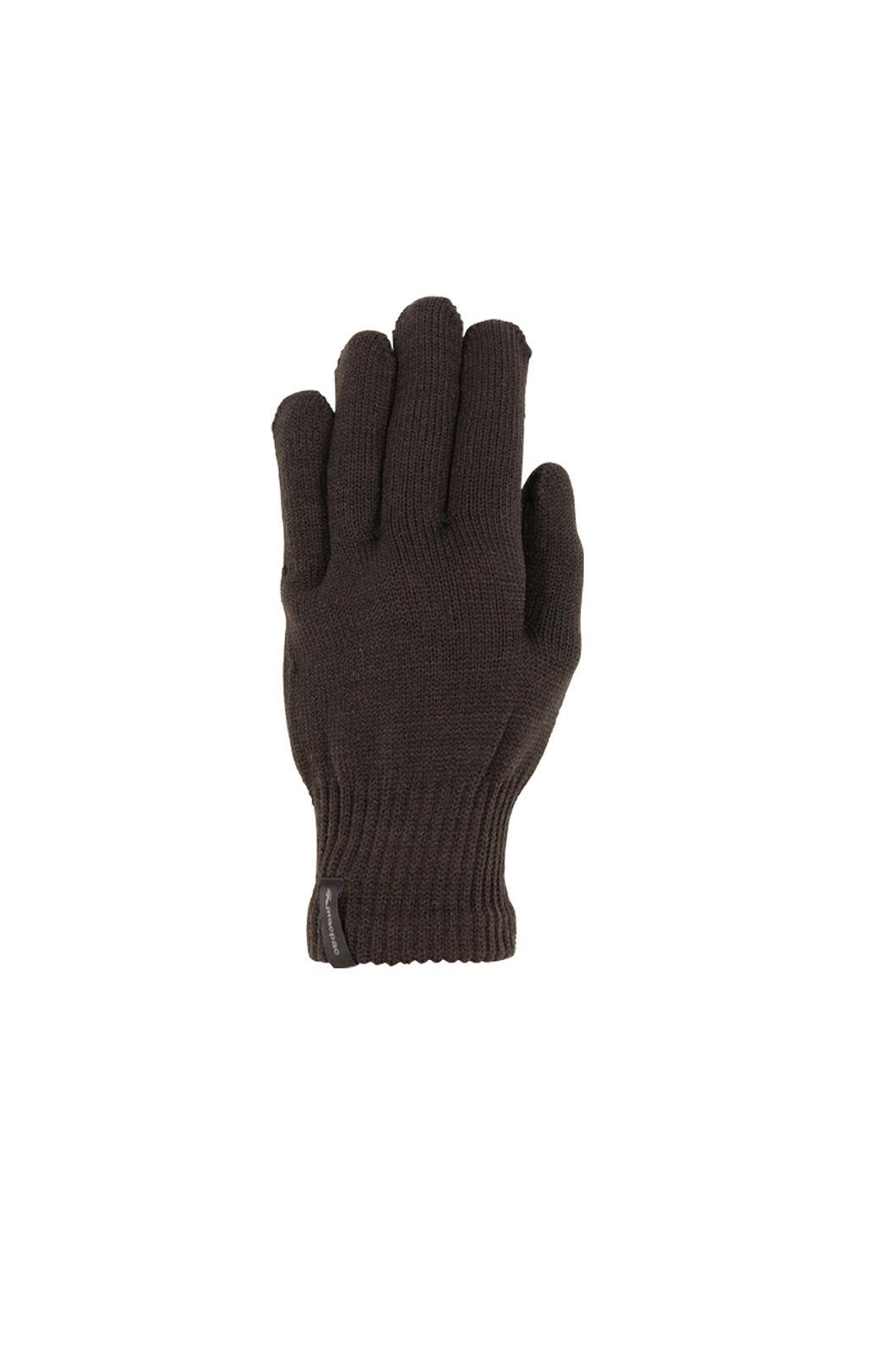 Macpac Polypro Gloves, Black, hi-res