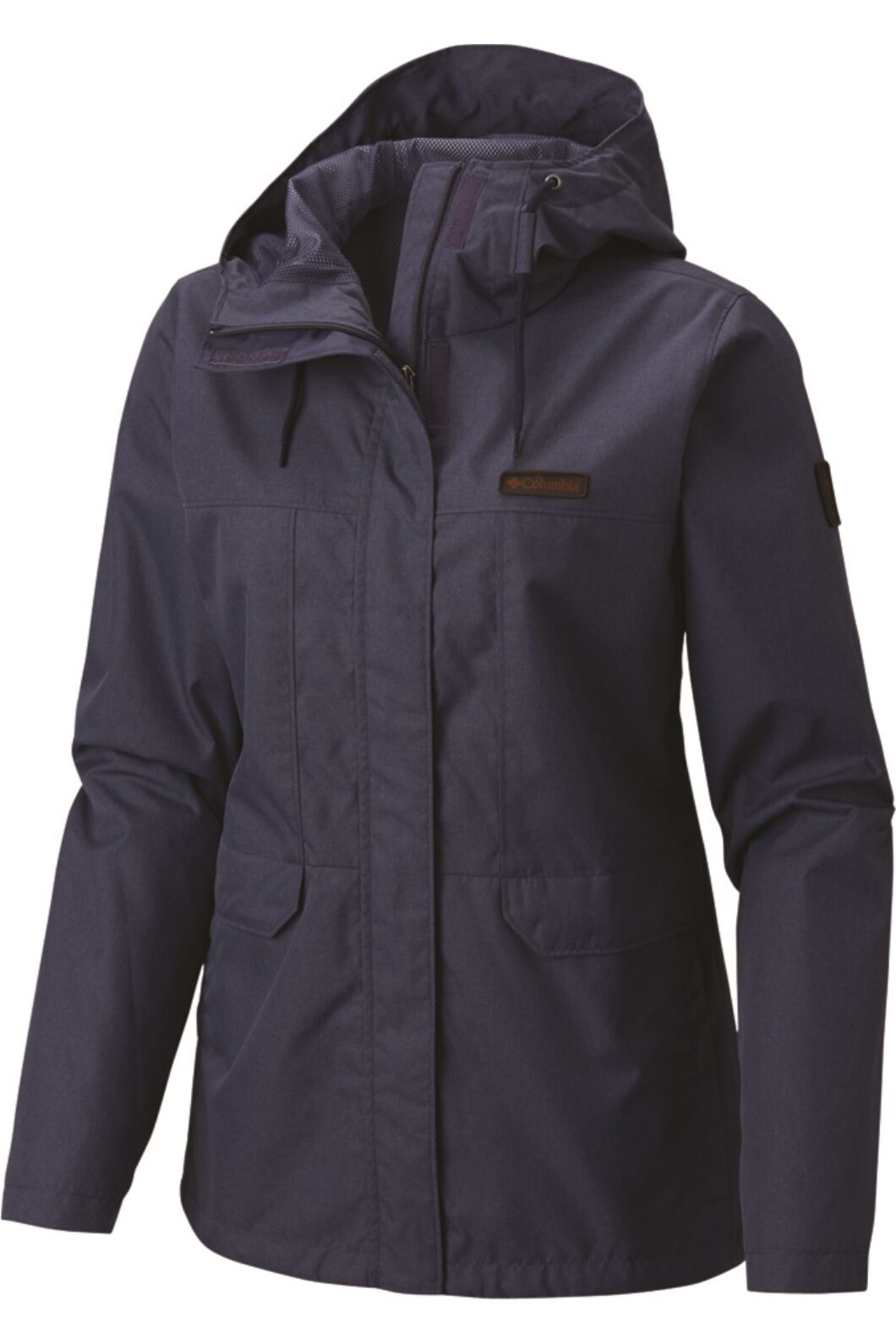 Columbia Women's Peale Point Jacket Cypress, NOCTURNAL, hi-res