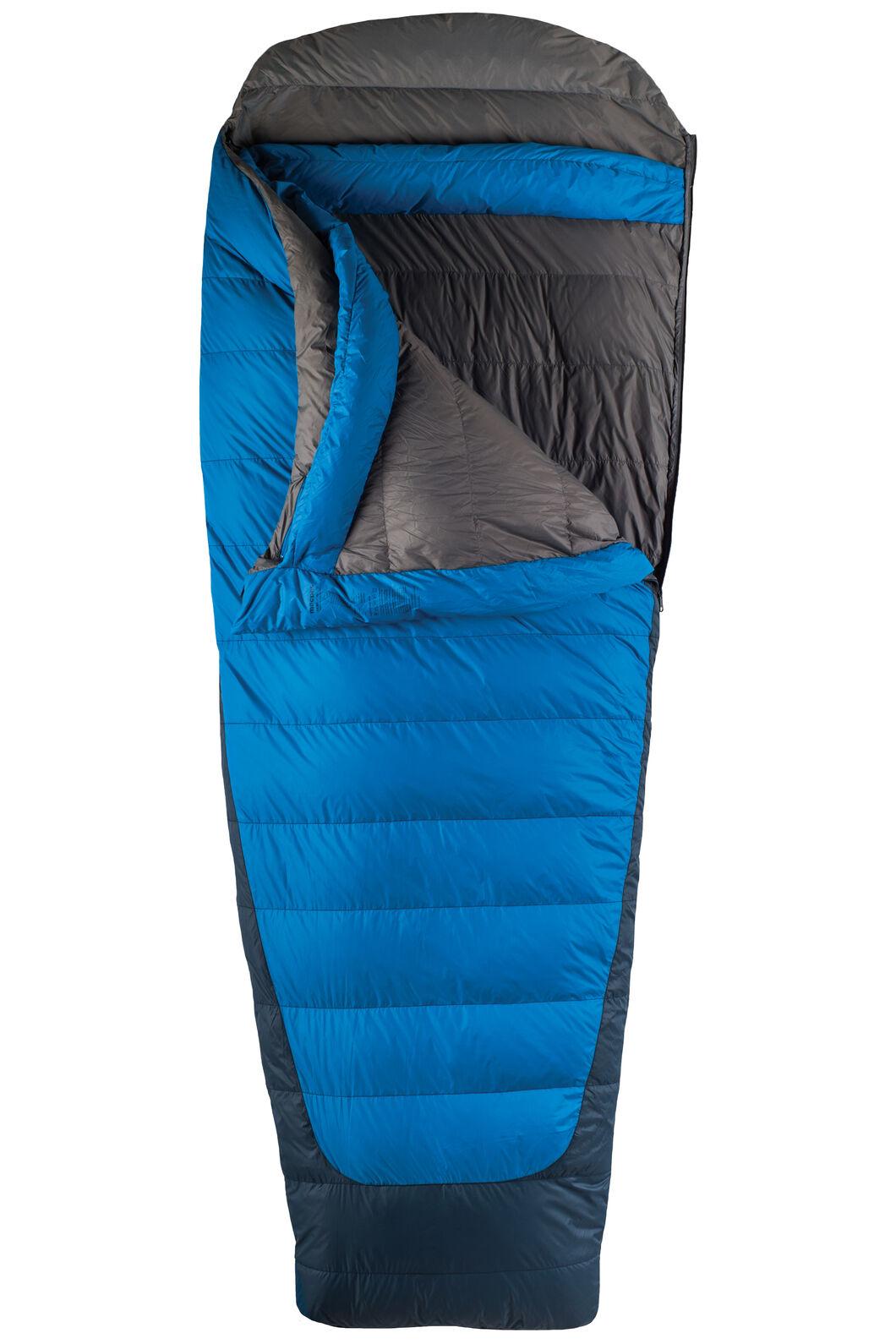Macpac Escapade 700 Women's Down Sleeping Bag, Classic Blue, hi-res
