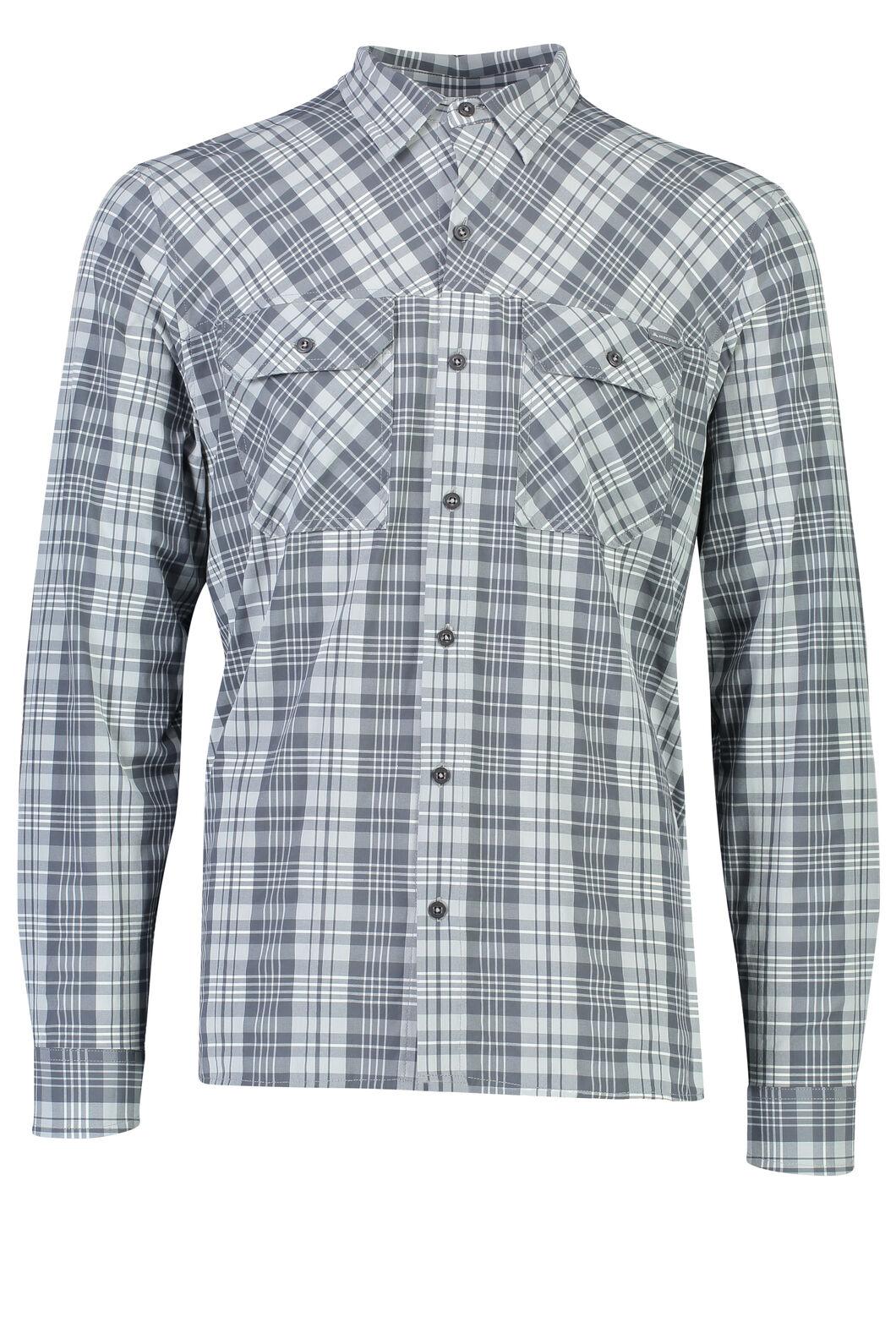 Macpac Eclipse Long Sleeve Shirt - Men's, Iron Gate, hi-res