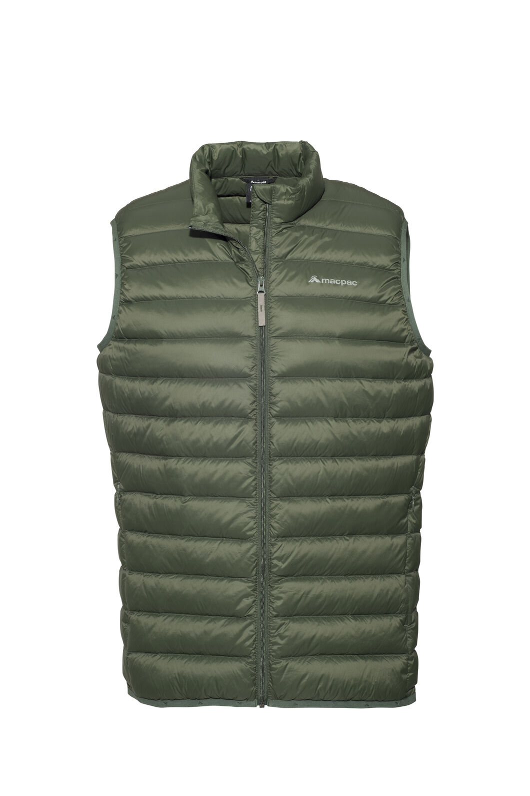 Macpac Uber Light Down Vest — Men's, Kombu Green, hi-res