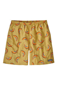 "Patagonia Baggies Longs Shorts 7"" — Men's, Melon/Surfboard Yellow, hi-res"